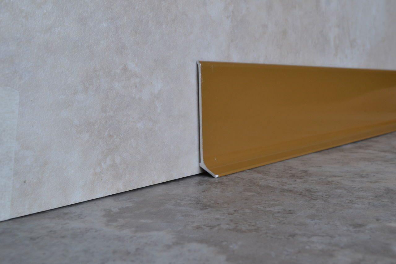 Цвет алюминиевого плинтуса